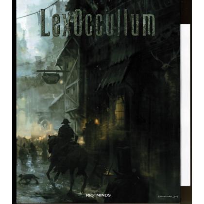 Gamemaster's Screen & Map (jdr Lex Occultum de Riotminds en VO) 001