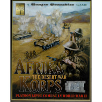 Afrika Korps - The Desert War (wargame Panzer Grenadier d'Avalanche Press en VO) 001