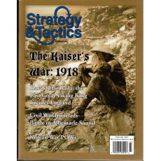 Strategy & Tactics N° 261 - The Kaiser's War 1918 (magazine de wargames en VO)