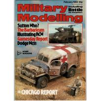 Military Modelling Vol. 10 No. 2 (Battle for Wargamers en VO) 001
