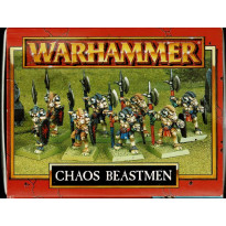 Chaos Beastmen (boîte de figurines Warhammer de Games Workshop en VO)