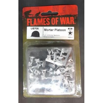 US705 - Mortar Platoon (blister figurines Flames of War en VO) 001