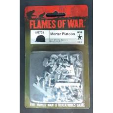 US705 - Mortar Platoon (blister figurines Flames of War en VO)