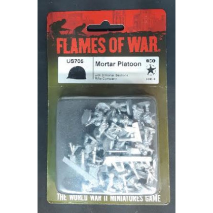 US705 - Mortar Platoon (blister figurines Flames of War en VO) 002