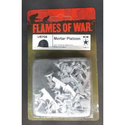 US705 - Mortar Platoon (blister figurines Flames of War en VO) 003