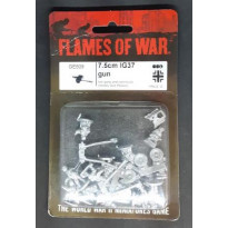 GE509 - 7.5 cm IG37 Gun (blister figurines Flames of War en VO)