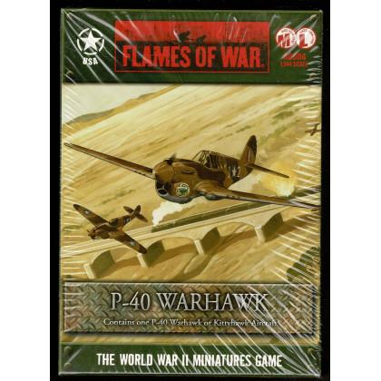 AC004 - P-40 Warhawk (boîte figurine Flames of War en VO) 001
