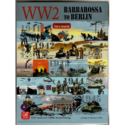 WW2 Barbarossa to Berlin - 1941 to 1945 (wargame Second Printing GMT en VO) 003