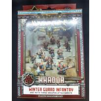 Khador - Winter Guard Infantry (boîte de figurines Warmachine en VO) 001