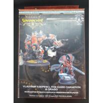 Khador - Vladimi Tzepesci, The Dark Champion & Drago (boîte édition limitée Warmachine en VO) 001