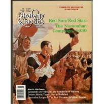 Strategy & Tactics N° 158 - The Nomonhan Campaign 1939 (magazine de wargames en VO)