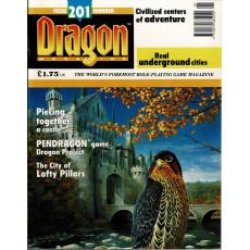 Dragon Magazine N° 201 (magazine de jeux de rôle en VO)