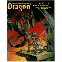 Dragon Magazine N° 72 (magazine de jeux de rôle en VO)