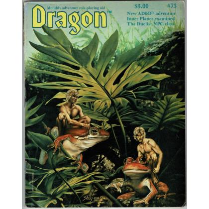 Dragon Magazine N° 73 (magazine de jeux de rôle en VO) 001