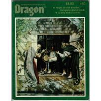 Dragon Magazine N° 60 (magazine de jeux de rôle en VO) 001