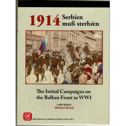 1914 Serbien muss sterbien (wargame de GMT en VO) 001