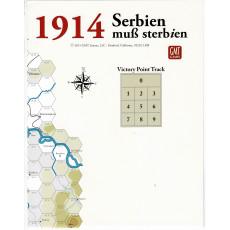 1914 Serbien muss sterbien - Carte en papier (wargame de GMT en VO)