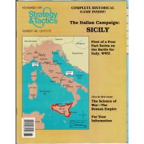 Strategy & Tactics N° 146 - The Italian Campaign : Sicily (magazine de wargames en VO)