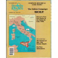Strategy & Tactics N° 146 - The Italian Campaign : Sicily (magazine de wargames en VO) 001