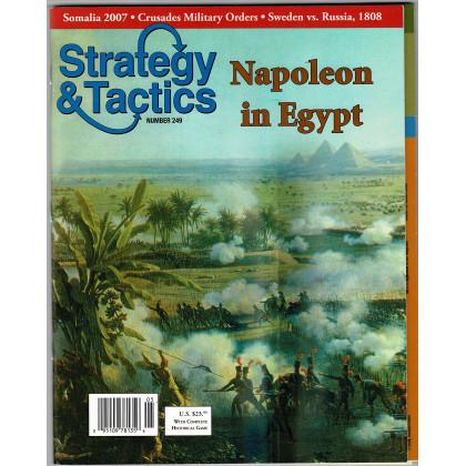 Strategy & Tactics N° 249 - Napoleon in Egypt (magazine de wargames en VO) 002