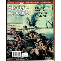 Strategy & Tactics N° 248 - First Blood: Second Marne 1918 (magazine de wargames en VO)