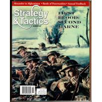 Strategy & Tactics N° 248 - First Blood: Second Marne 1918 (magazine de wargames en VO) 001