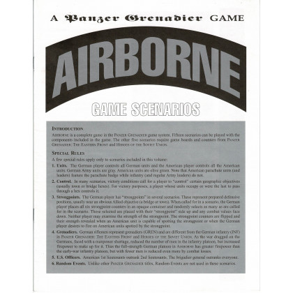 Airborne - Format ziploc (wargame Panzer Grenadier d'Avalanche Press en VO) 002