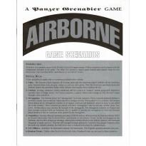Airborne - Format Ziploc (wargame Panzer Grenadier d'Avalanche Press en VO)