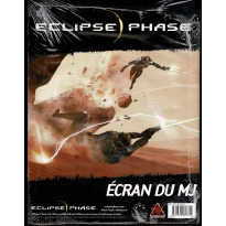 Eclipse Phase - Ecran du MJ (jdr Black Book Editions en VF) 002