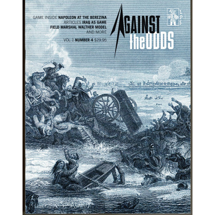 Against the Odds Vol. 1 Nr. 4 - Napoleon at the Berezina (A journal of history and simulation en VO) 002