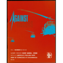 Against the Odds Vol. 1 Nr. 2 - Khe Sanh 1968 (A journal of history and simulation en VO)