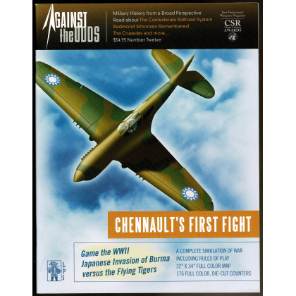 Against the Odds Nr. 12 - Chennault's First Fight (A journal of history and simulation en VO) 001