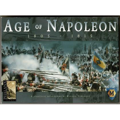 Age of Napoleon 1805-1815- Second Edition (wargame de Phalanx Games en VO) 001
