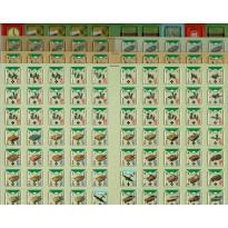 Conflict of Heroes - 4 planches de pions Orages d'Acier ! (wargame Asyncron en VF)