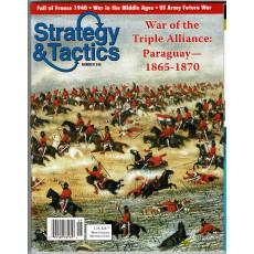 Strategy & Tactics N° 245 - War of the Triple Alliance: Paraguay 1865-1870 (magazine de wargames & jeux de simulation)