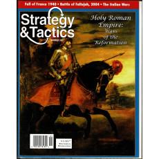 Strategy & Tactics N° 247 - Holy Roman Empire (magazine de wargames & jeux de simulation en VO)