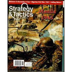 Strategy & Tactics N° 246 - Manila 1945 (magazine de wargames & jeux de simulation en VO)