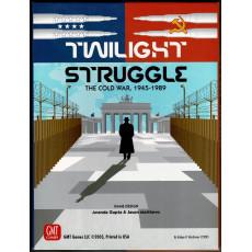 Twilight Struggle - The Cold War 1945-1989 (Boardgame/wargame de GMT en VO)