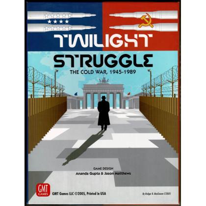 Twilight Struggle - The Cold War 1945-1989 (Boardgame/wargame de GMT en VO) 003