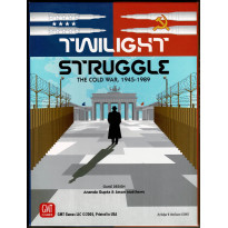 Twilight Struggle - The Cold War 1945-1989 (Boardgame/wargame de GMT en VO)