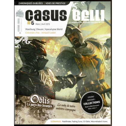 Casus Belli N° 6 (magazine de jeux de rôle - Editions BBE) 010