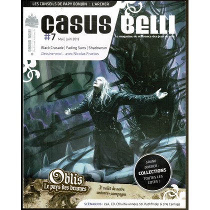 Casus Belli N° 7 (magazine de jeux de rôle - Editions BBE) 005