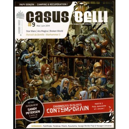 Casus Belli N° 9 (magazine de jeux de rôle - Editions BBE) 006