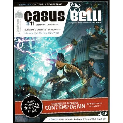 Casus Belli N° 11 (magazine de jeux de rôle - Editions BBE) 005