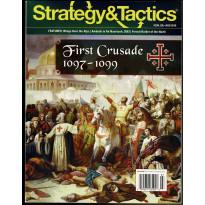 Strategy & Tactics N° 299 - First Crusade 1097-1099 (magazine de wargames & jeux de simulation en VO)