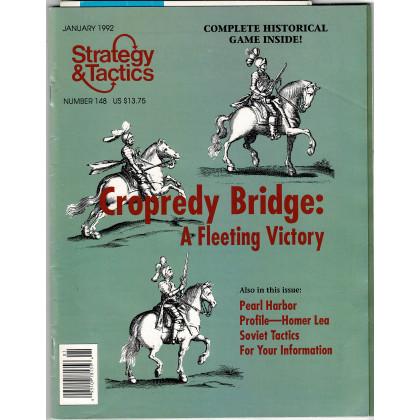 Strategy & Tactics N° 148 - Cropedy Bridge 1644 (magazine de wargames en VO) 001