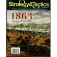 Strategy & Tactics N° 297 - 1863 Turning Point in the Civil War (magazine de wargames & jeux de simulation en VO) 001