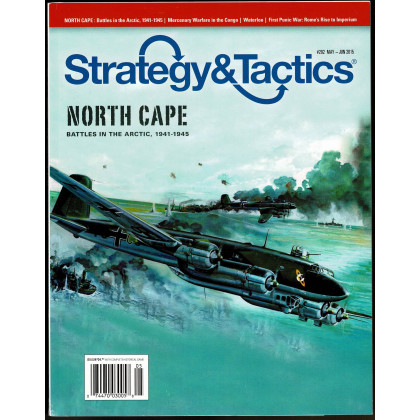 Strategy & Tactics N° 292 - North Cape 1941-1945 (magazine de wargames & jeux de simulation en VO) 001