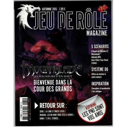 Jeu de Rôle Magazine N° 31 (revue de jeux de rôles) 002