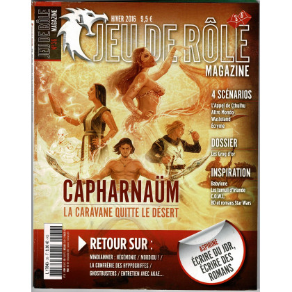 Jeu de Rôle Magazine N° 36 (revue de jeux de rôles) 002
